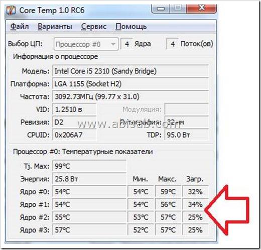 Как узнать температуру процессора: два простых способа
