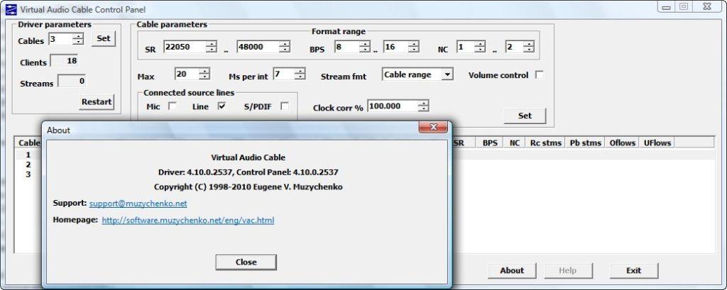 Virtual Audio Cable