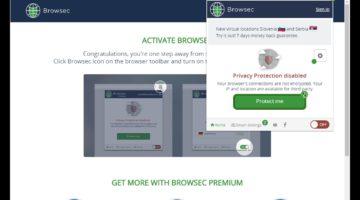 Расширение Browsec