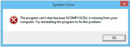 Vcomp110 DLL