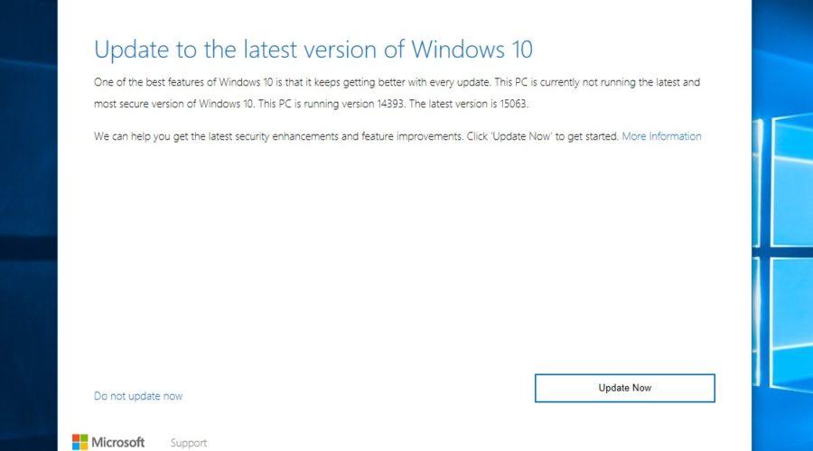 Windows 10 Upgrade Assistant